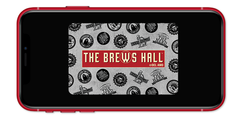 eGift Card for The Brews Hall